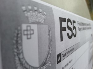 FS5 Form with payment to be submitted to IRD by end of month