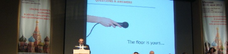 EACC Reporting at the General Assembly of Cooperatives Europe 2011