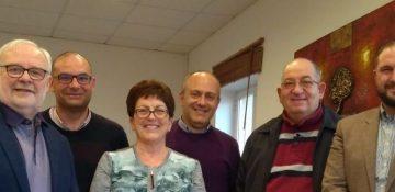 Dame Pauline Green meets Malta Co-operative Federation