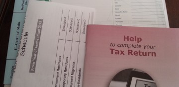 Income Tax Return and Self Assessment for 2014 due by 30th June 2015